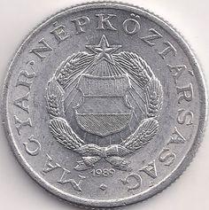 Motivseite: Münze-Europa-Mitteleuropa-Ungarn-Forint-1.00-1967-1989