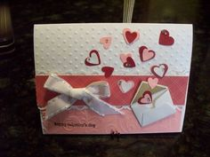 Valentine.. like the idea of exploding hearts from tiny envelope