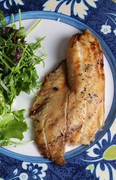 Simple Grilled Tilapia. Cooking Chat recipe for #SundaySupper