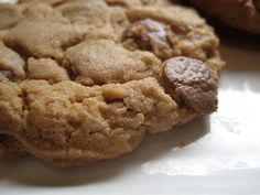 High Altitude Peanut butter & Choc chip cookies