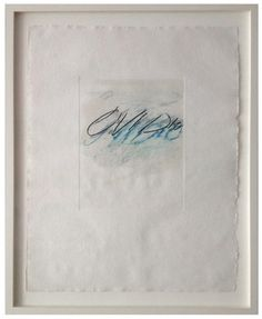 Paddle8: Six Latin Writers and Poets - Cy Twombly