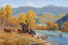 *New* Crossing The Snake River | Clark Kelley Price