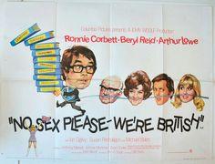 No Sex Please were British quad movie poster