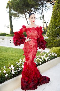 Katy Perry, Leonardo DiCaprio and All the Models at the amfAR Gala | wmag.com