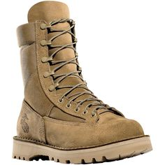 26029 Danner Men's Marine Hot Military Safety Boots - Tan