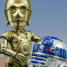 Star Wars Collectible Figure - C-3PO and R2-D2