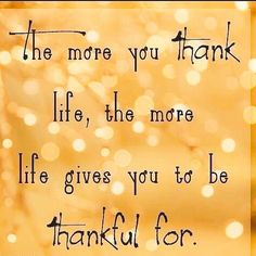 Thursday's Thoughts! Have a grateful day everyone #gratitude #Thankful #Thursday