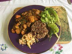 Le curry de légumes végétarien Le Curry, Cata, Chana Masala, Mousse, Beef, Cooking, Ethnic Recipes, Food, Vegetable Curry