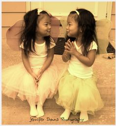 Omg Asian twins in tutus. I want them NOW! Inappropriate?