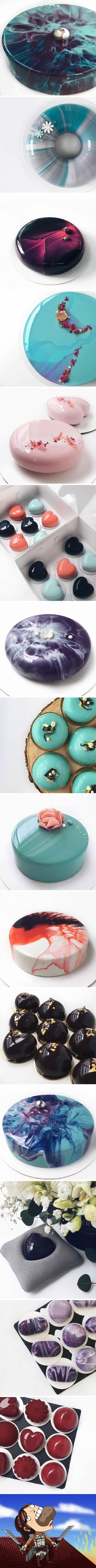 These Mirror Glazed Mousse Cakes Are Just Too Perfect To Be Eaten