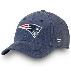 Men s New England Patriots NFL Pro Line by Fanatics Branded Navy Timeless  Core Fundamental Adjustable Hat 317c8fd1ebb4