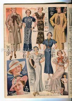 1935 everyday fashion