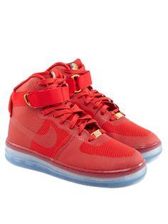 NIKE Air Force 1 Lux Sneaker Rot auf Stylelounge.de