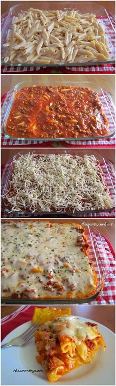 superstuffz: Easy Baked Ziti