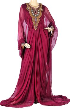 """""""The Beauty in Red Kaftan"""".. totally in love with this wedding party wear.!!"""