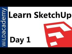 Woodworking Course SketchUp tutorial series for beginners. This course will teach you the basics of SketchUp. The SketchUp Hero course will teach you advanced techniques to mak. Sketchup Pro, Sketchup Woodworking, Woodworking Courses, Woodworking School, Learn Woodworking, Woodworking Videos, Woodworking Furniture, Woodworking Plans, Youtube Woodworking