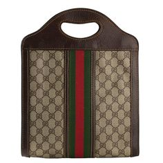 e90dcd08d64937 1970s Gucci Tote Bag | From a collection of rare vintage tote bags at https: