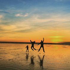 Seabrook, WA (Pacific Beach) at Sunset
