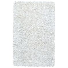 Found it at Wayfair - Shimmer Hand-Loomed White Area Rug