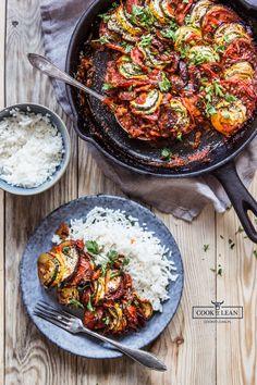 Zapiekanka warzywna z chorizo - Cook it Lean - sprawdzone paleo przepisy