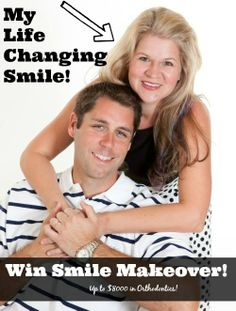 Win an $8,000 Smile Makeover with @Trish - DAiSYS & dots Haas