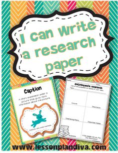 research paper writing for young kids