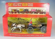 Timpo Toys 272 Buckboard in Blister Box #1072