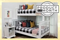Styled for Bunk Beds – Beddy's Zip Up Bedding, Girls Bedroom, Bedroom Decor, Bedroom Ideas, Beddys Bedding, Ranch Decor, Shared Bedrooms, Make Your Bed, Small Rooms