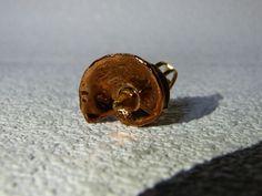 Ceramic luster, copper,ring
