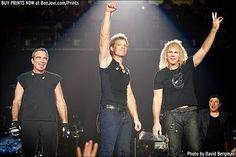 Photo © 2013 David Bergman / www.BonJovi.com/prints -- Bon Jovi performs at the AT&T Center in San Antonio