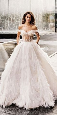 6f258d8b91db #Wedding #Dresses #2019 were presented at the fashion week. Getting married  in
