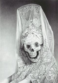 Lady Muerte By Laurie Lipton