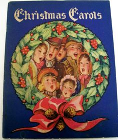 1942 Christmas Carol Sheet Music Song Book