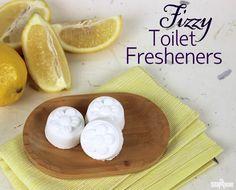 Fizzy Toilet Fresheners