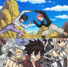 fairy tail eden zero, using the Dragon Ball fusion technique Fairy Tail Meme, Fairy Tail Natsu And Lucy, Fairy Tail Nalu, Fairy Tail Ships, Fairy Tail Family, Fairy Tail Couples, Manga Anime, Anime Art, Edens Zero