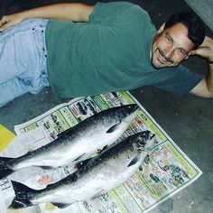 June 11 & July 4 are free (no license required) #fishing days in #Maryland! (This pretty pair of #Coho Hens were caught near the Oregon coast :-) Take a kid fishing!            Pete Theodore (@pete.theodore) • #Instagram photos and videos