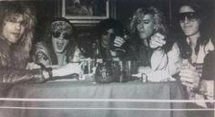 Steven Adler, Axl Rose, Slash, Duff Mckagan, Izzy Stradlin