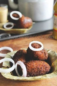 Bengali Style Mutton Croquettes Or Mangsher Chop Hotdish Recipes, World Recipes, Other Recipes, Cooking Recipes, Indian Appetizers, Indian Snacks, Indian Food Recipes, Indian Foods