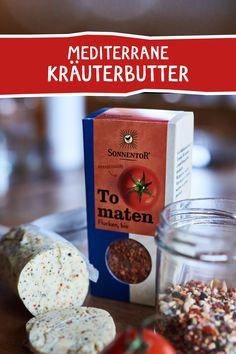 DER PERFEKTE BEGLEITER FÜR GRILLGEMÜSE. #kräuter #kräuterbutter #grillbutter #bbq #grillrezept #grillsauce #tomaten #rezept #rezeptidee #sommerparty #grillen #grillmeister #butter #gewürze Zucchini, Kraut, Bbq, Breakfast, Food, Vegetarian Grilling, Dried Tomatoes, Browning, Food Food