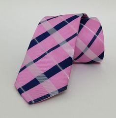 Lilac and Dar Blue Striped Mens Tie 6 cm (2,36 #handmadeatamazon #nazodesign