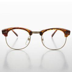25c8b99e7f517 60s Retro Malcolm X Horn Rim Hipster Vintage Glasses Tortoise - Malcom