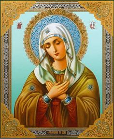 Tenderness Icon of the Mother of God - St. Elisabeth Convent - #CatalogOfGoodDeeds #Orthodox #Icons #OrthodoxIcons #Orthodoxy #Theotokos #VirginMary #Miracle #Blessed #Faith