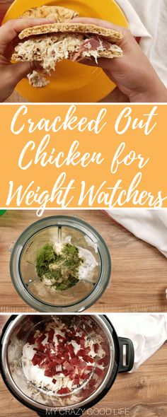 Making this cracked out chicken for Weight Watchers is easier than ever thanks to the Instant Pot. You can make this lighter version for sandwiches, dips, and more!Cracked Out Chicken | Cracked Out Chicken Weight Watchers | Weight Watchers Cracked Out Chicken | Instant Pot WW Cracked Out Chicken