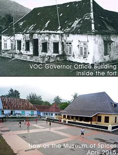 Governor's Office, Build A Fort, Dutch East Indies, Forts, Ruler, Old Photos, Colonial, Spanish, Mansions