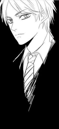 Eren jaeger suit and tie, modern fashion