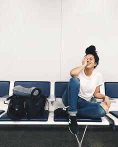 Resultado de imagem para fotos no aeroporto tumblr