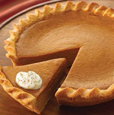 everyone is raving about this fabulously easy pumpkin pie. Make the pie even more festive by serving it with Vanilla Whipped Cream. Pumpkin Pie Recipes, Fall Recipes, Holiday Recipes, Pumkin Pie, Pumpkin Pie Recipe With Pumpkin Pie Spice, Pumpkin Pie Recipe With Evaporated Milk, Pumpkin Pie Condensed Milk, Classic Pumpkin Pie Recipe, Gastronomia