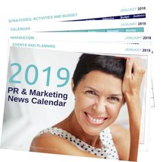 2018 PR and Marketing News Calendar Sales Strategy, Content Marketing Strategy, Social Media Marketing, Marketing News, Marketing Communications, Marketing Plan, Business Marketing, Internet Marketing, Digital Marketing