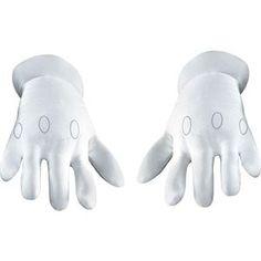 Super Mario Brothers Adult Gloves - 355311 | trendyhalloween.com #halloweenaccessories