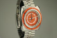 Favre-Leuba Bathy 160 Diver Wrist Watches, Cool Watches, Favre Leuba, Affordable Watches, Watch Sale, Vintage Watches, Link Bracelets, Vintage Men, Omega Watch